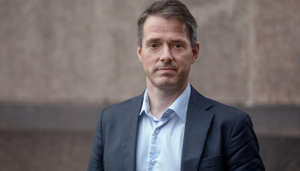 IKKE IMPONERT: Administrerende direktør i Virke, Ivar Horneland Kristensen, krever at også eiendomsselskapene bidrar i dugnaden. Foto: Virke