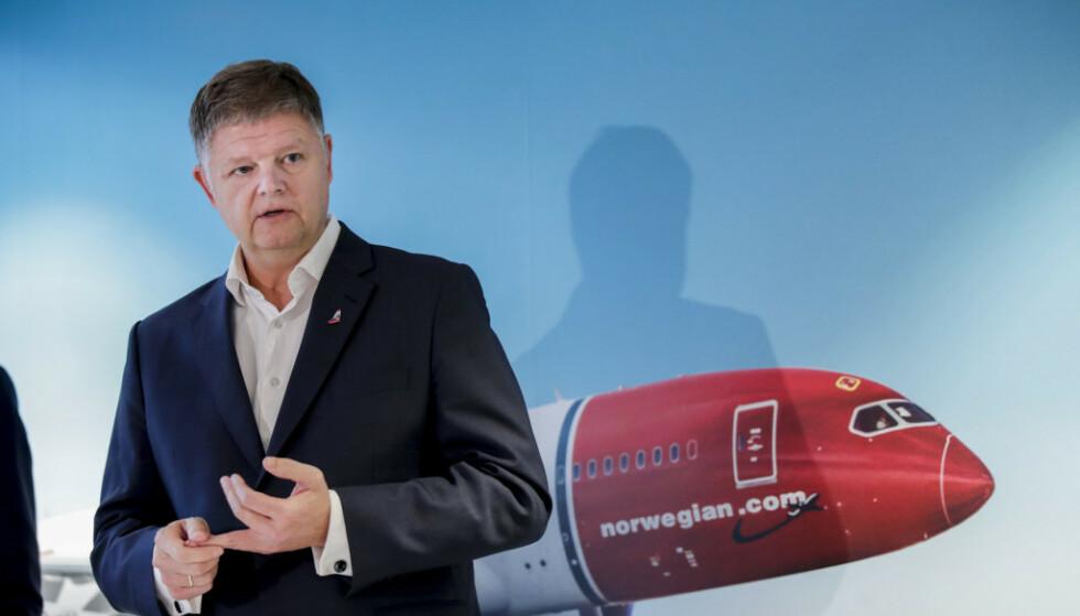 BER OM KRISEHJELP: Norwegians konsernsjef Jacob Schram. Foto: Vidar Ruud / NTB scanpix