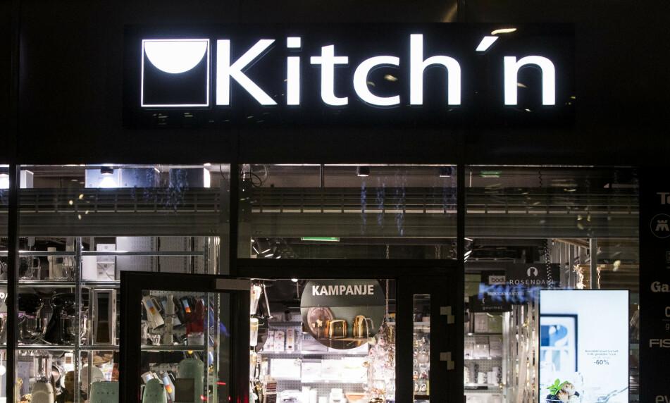 DØRENE LUKKES: Kjøkkenutstyrsbutikkene Kitch´n og Tilbords rammes av kundesvikt i coronakrisa, og stenger midlertidig ned. Foto: Terje Pedersen / NTB scanpix