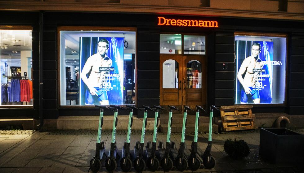 <strong>VARSEL:</strong> Varner-gruppen, som blant annet eier kleskjeden Dressmann, sender fredag ut permitteringsvarsel til 3500 ansatte. Foto: Frank Karlsen / Dagbladet