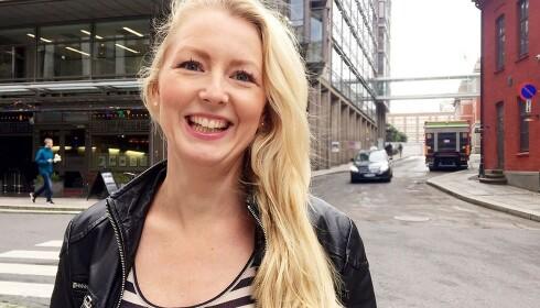 DUGNADSÅND: Louise Fuchs i Kolonial skryter av de ansatte som møter den enorme pågangen med god dugnadsånd. Foto: Kolonial