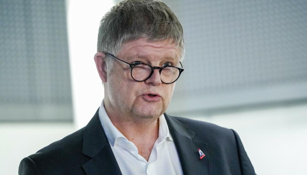 NORWEGIANS TYNGSTE JOBB: Norwegians nye konsernsjef Jacob Schram har fått jobben med å løse selskapets problemer, som ble kraftig tilspisset på grunn av corona-viruset. Foto: Fredrik Hagen / NTB scanpix