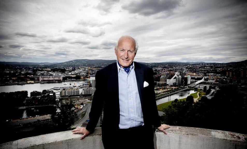 ADVARER: Investor Christian Ringnes er en stor eier av eiendom i Oslo. Han advarer mot å kreve større bidrag fra gårdeierne i dugnaden for å berge næringslivet gjennom coronakrisen. Foto: Tomm W. Christiansen / Dagbladet