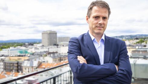 BER OM FORLENGINGER: Ivar Horneland Kristensen er administrerende direktør i arbeidsgiverorganisasjonen Virke. Han mener blant annet at lønnstilskuddsordningen bør forlenges. Foto: Håkon Mosvold Larsen / NTB scanpix