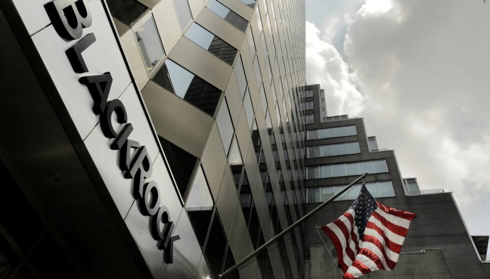 SMELL: Koronanedturen på verdens børser bidro til at Blackrocks kunder tapte rundt 1000 milliarder dollar i årets første tre måneder. Illustrasjonsfoto: Lucas Jackson / Reuters / NTB Scanpix