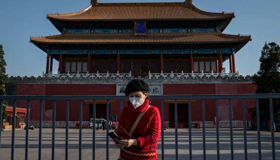 STUPTE: Verdens nest største økonomi stupte med formidable 6,8 prosent i årets første kvartal. Foto: NTB scanpix/Nicolas Asfouri/AFP