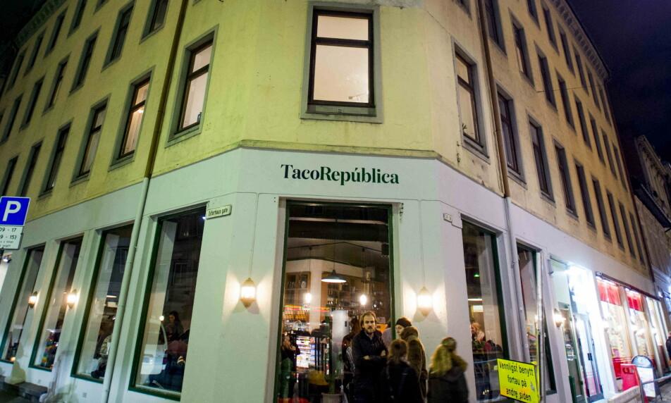 <strong>MELDER OPPBUD:</strong> Taco República har vært en favorittrestaurant for mange. Nå er virksomheten konkurs. Foto: Thomas Rasmus Skaug / Dagbladet