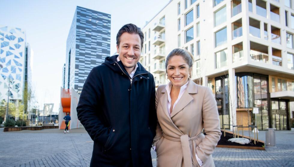 <strong>SUKSESS:</strong> Hans Houeland har operert i det øvre sjiktet av eiendomsmarkedet i en årrekke. Helene Solberg ble på sin side DNB Eiendoms toppselger på rekordtid. Foto: Lars Eivind Bones / Dagbladet