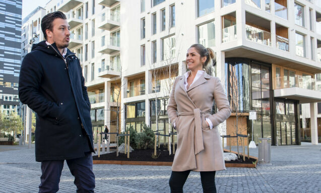 - MODERNE FAMILIE: Helene Solberg og Hans Houeland har begge to barn hver fra tidligere forhold. Foto: Lars Eivind Bones / Dagbladet