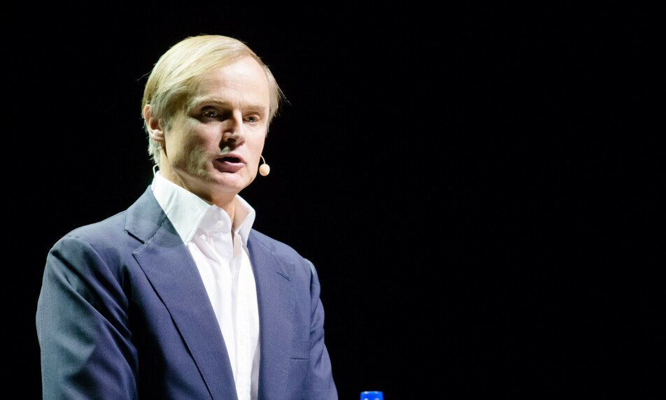 STORM: Investor Øystein Stray Spetalen mener Norge ikke kunne fått en bedre sjef for oljefondet enn Nicolai Tangen. Foto: Audun Braastad / NTB scanpix
