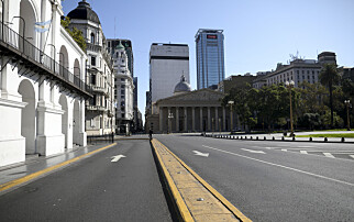 Argentina betalte ikke massive gjeldsrenter