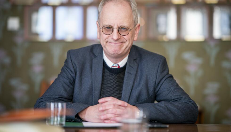 <strong>LOVORD:</strong> Henrik Syse har kjent Nicolai Tangen siden slutten av 80-tallet. Han er raus med superlativene i beskrivelsen av den påtroppende oljefondsjefen. Foto: NTB Scanpix