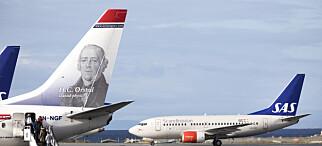 NHO-alarm for norsk luftfart