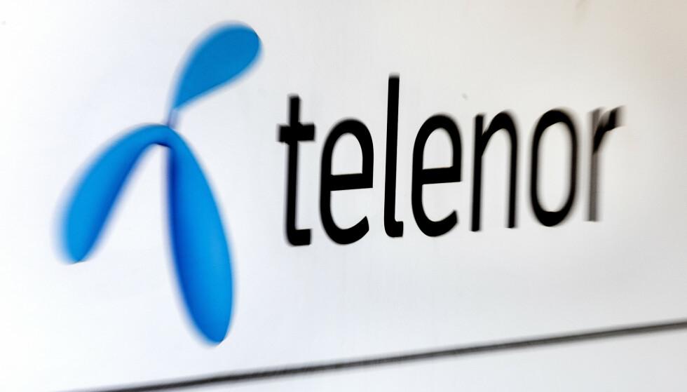 <strong>VARSLER LAVERE INNTEKTER:</strong> Telenor varsler lavere inntekter og resultater for resten av 2020, fremgår det av kvartalsrapporten. Foto: Gorm Kallestad / NTB scanpix