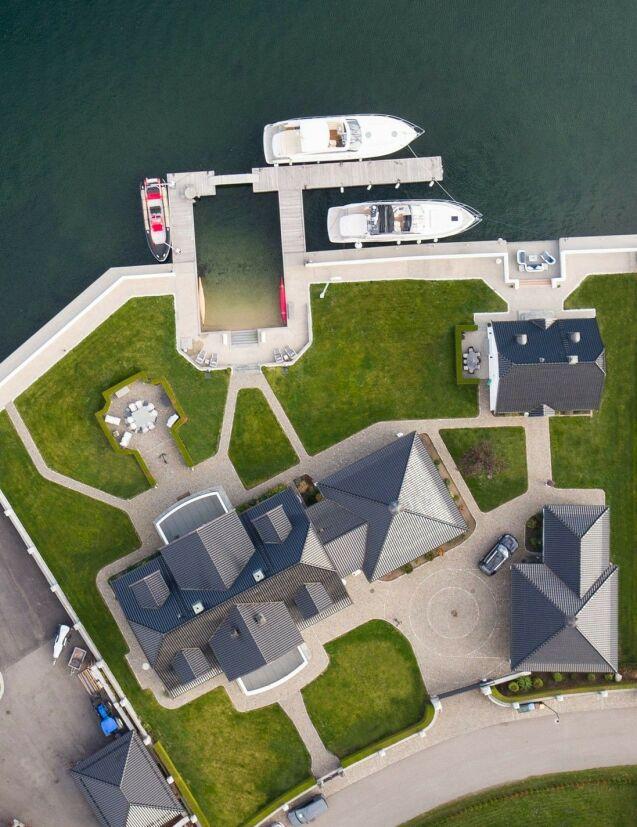 70 MILLIONER: Eierne kjøpte strandeiendommen på Kalvetangen for 48 millioner kroner i 2007. Foto: Breakfast