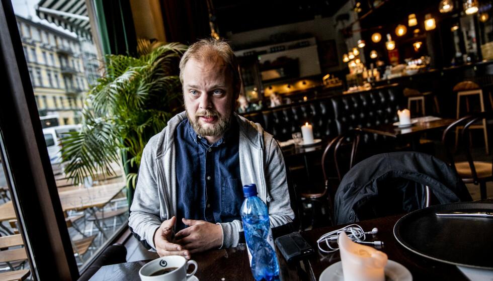 IKKE IMPONERT: Mímir Kristjánsson kommer med krass kritikk mot næringsminister Iselin Nybøs siste stunt. Foto: Christian Roth Christensen / Dagbladet