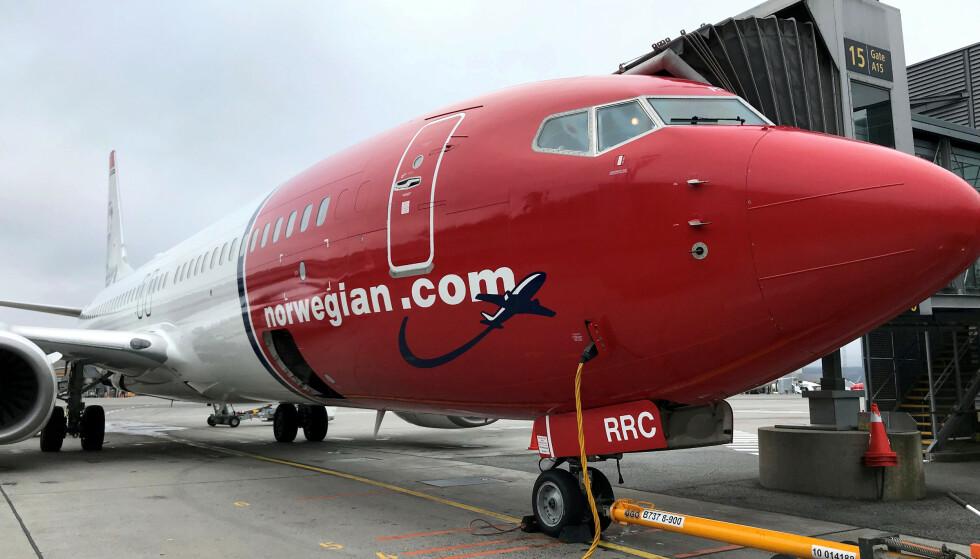 KAN GÅ KONKURS: Norwegian må ha snarlig hjelp for å unngå konkurs. Foto: Reuters /NTB Scanpix