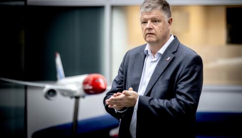 <strong>LETTET:</strong> Konsernsjef Jacob Schram i Norwegian. Foto: Bjørn Langsem / Dagbladet