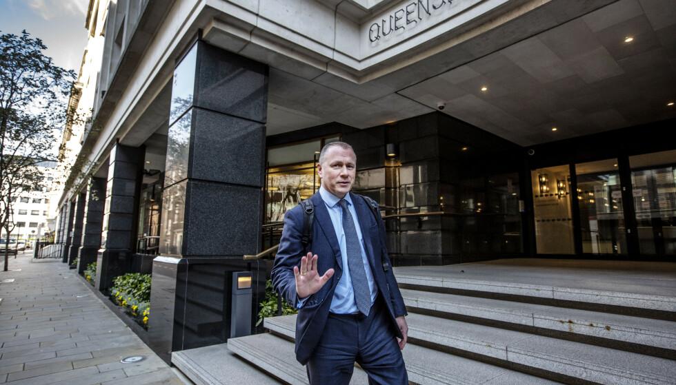 <strong>NY SJEF:</strong> Representantskapet i Norges Bank jobbet onsdag videre med svarene fra hovedstyret i Norges Bank om ansettelsen av Nicolai Tangen som oljefondsjef. Foto: Jeff Gilbert / Shutterstock / NTB Scanpix