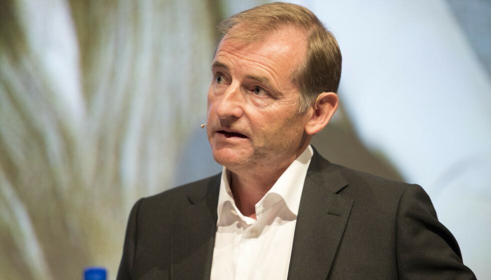 IKKE BEKYMRET: Administrerende direktør i NEF, Carl O. Geving, mener norske husholdninger fortsatt har en del å gå på. Foto: Torstein Bøe / NTB