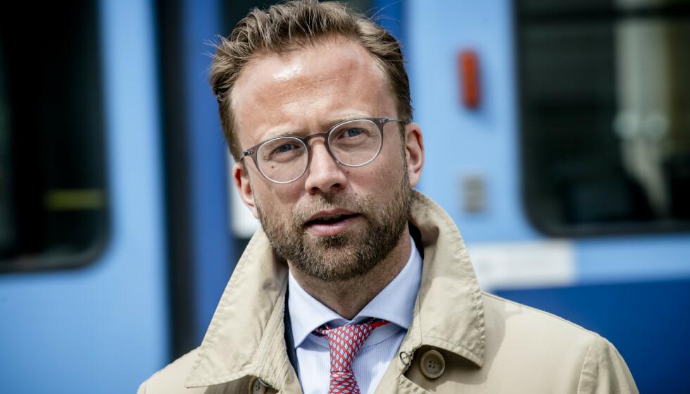 AVVENTER: «Husbanklån skal supplere, ikke konkurrere med, private banker. Vi avventer nå Stortingets behandling», skriver statsråd Nikolai Astrup (H) Foto: Lars Eivind Bones / Dagbladet