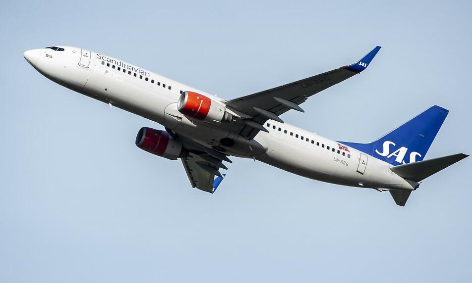 <strong>NYE KRAV:</strong> SAS har innført nye smittevernrutiner om bord i sine fly. Illustrasjonsfoto: Hans A. Vedlog / Dagbladet
