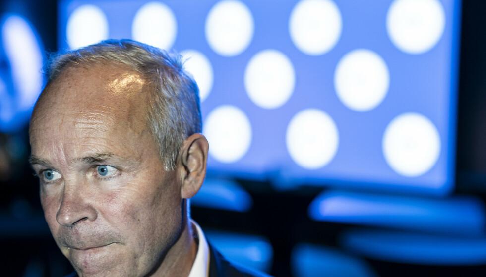 ADVARER: Jan Tore Sanner mener det e ren stor usikkerhet i tida som kommer. Foto: Hans Arne Vedlog / Dagbladet