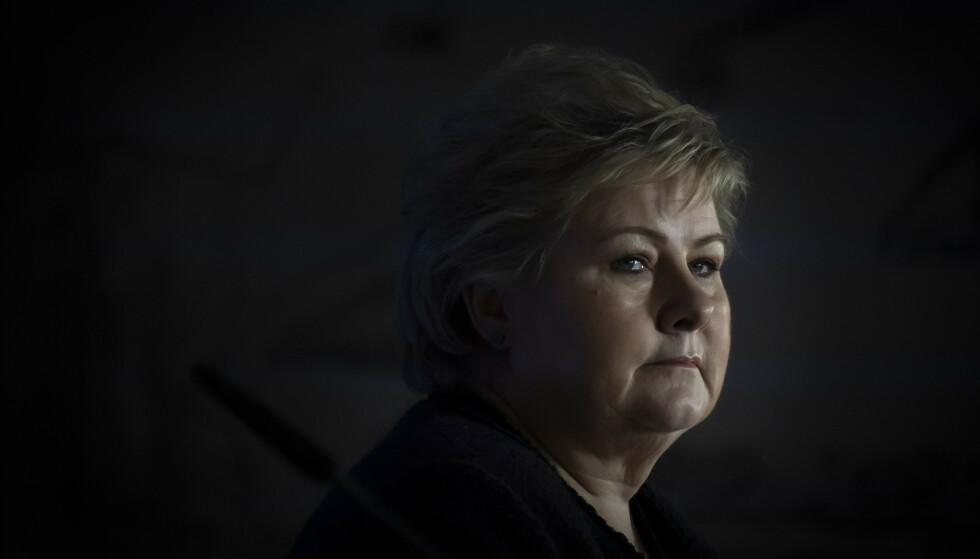 <strong>UNDER PRESS:</strong> Statsminister Erna Solberg (H) og regjeringen står under sterkt press for å gi et skatteopplegg til oljebransjen. Foto: Heiko Junge / NTB Scanpix