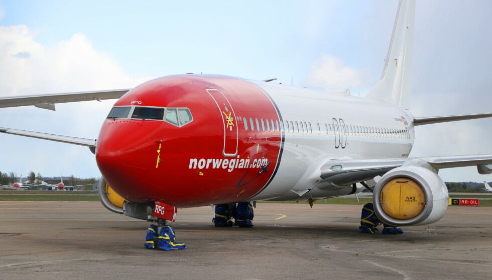 <strong>OPPFYLT KRAV:</strong> Norwegian har oppfult statens vilkår for å få kriselån, skriver de selv i en pressemelding. Foto: Ørn E. Borgen / NTB scanpix