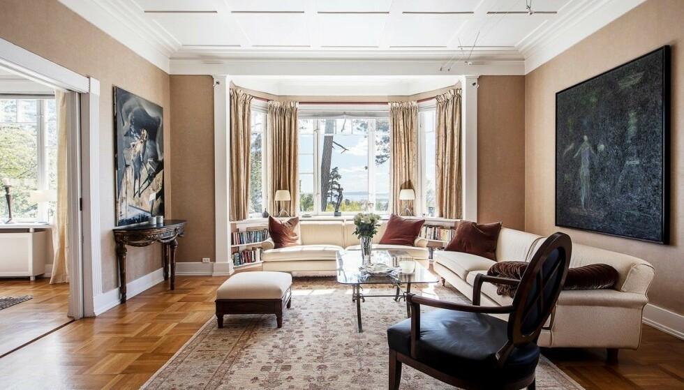 HERSKAPELIG PREG: Christian Rytter ber om 60 millioner kroner for boligen. Foto: Studio Oslo