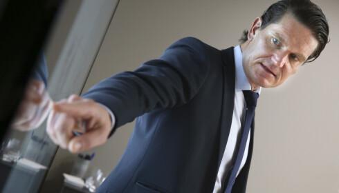 - BUNNEN ER NÅDD: Sjeføkonom i Nordea Kjetil Olsen mener bunnen er bak oss som følge av koronapandemien. Foto: Vidar Ruud / NTB scanpix