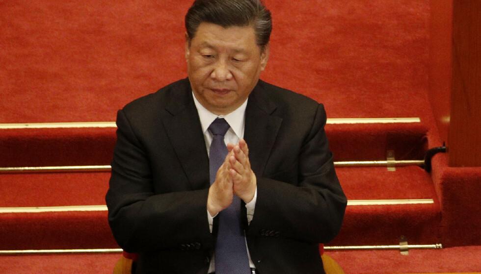 HEVN: Flere eksperter mener Kina og president Xi Jinping hevner seg på Australia når de ilegger dem toll. Foto: AP Photo / Andy Wong / NTB scanpix