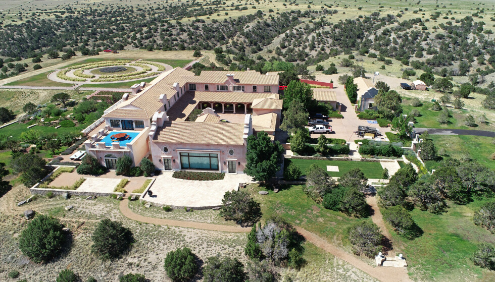 VIL KREVE INN DELER AV TOMTA: Den avdøde finansmannen skal ha brukt sin 10 000 mål store «Zorro Ranch» som en lekeplass for sine mange VIP-gjester. Foto: NTB Scanpix