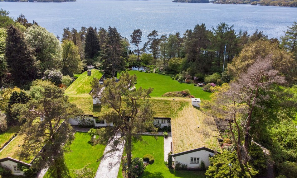 PRISKUTT: Milliardær Bjarne Rieber har valgt å redusere prisen på sin luksuseiendom i Bergen med ti millioner kroner. Foto: PrivatMegleren