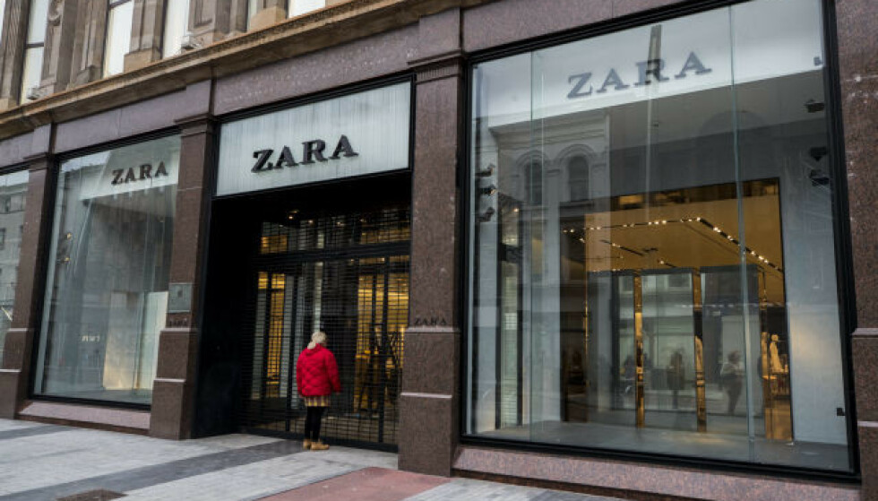 KLESGIGANT: Zara sliter med salget som følge av pandemien. Foto: NTB Scanpix.