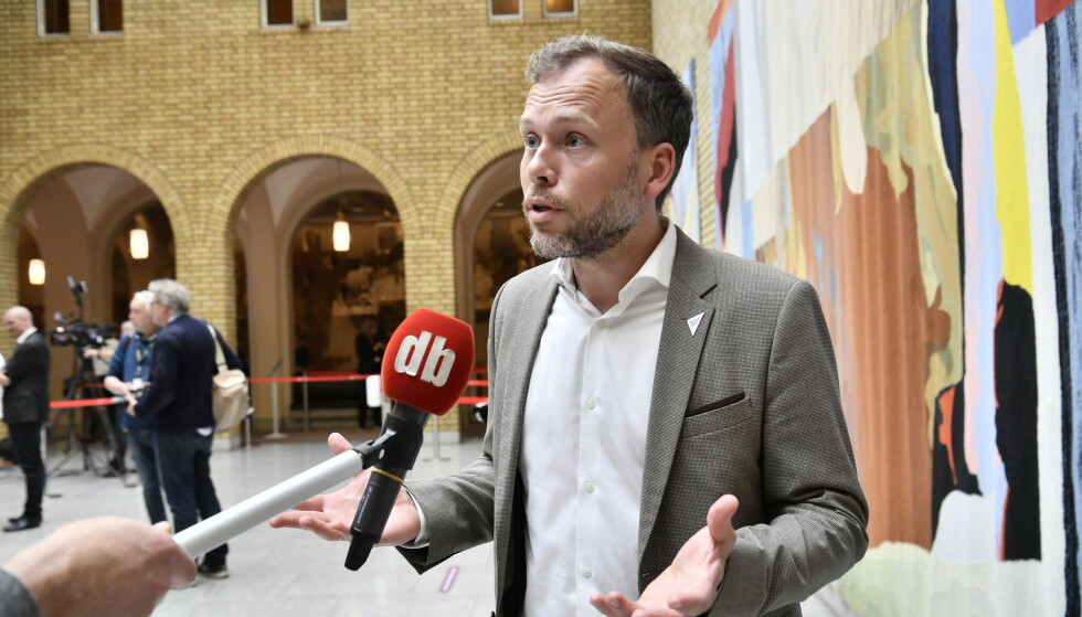 KRITISK: SV-leder Audun Lysbakken krever at Stortinget vurderer om Tangen kan tiltre. Foto: Lars Eivind Bones / Dagbladet