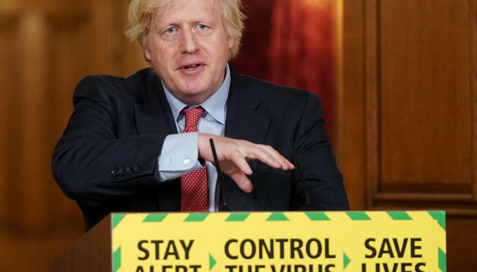 KRISETALL: Britisk økonomi ser ut til å være den som er aller hardest rammet av coronaviruset. På toppen av det hele må Boris Johnson forsøke å lose landet ut av EU på en god måte. Foto: NTB scanpix