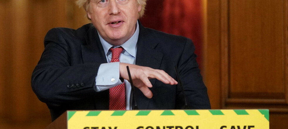 Økonomisk kollaps for Storbritannia