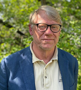 Overrasket: Mats Jansson, næringslivsstrateg i region Gotland. Foto: Privat