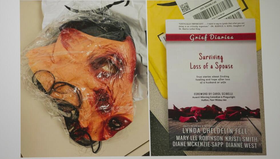POST: Ekteparet i Massachusetts fikk, blant mye annet, en blodig grisemaske og boka «Surviving Loss of a Spouse» i posten. Nå er seks tidligere eBay-ansatte tiltalt for trakasseringen. Foto: EPA / CJ GUNTHER / NTB scanpix
