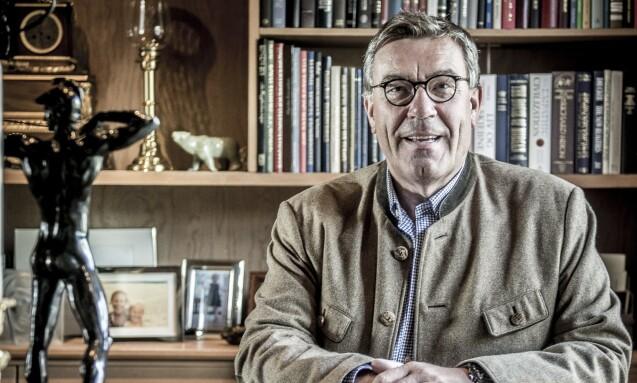 POSITIV: - Vi må bruke pengene der de er fremst i verden på forskningen, sier Stein Erik Hagen, som er svært godt fornøyd med at støtten til kreftforskningen bærer frukter. Foto: Thomas Rasmus Skaug