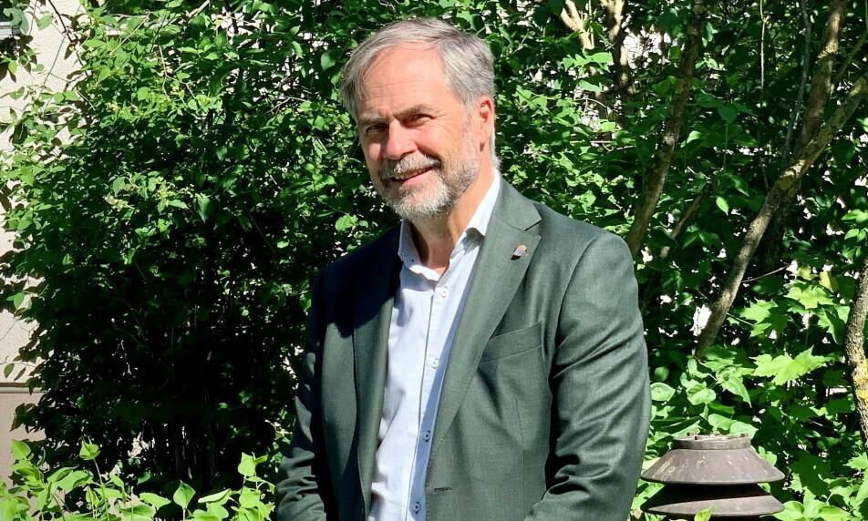 <strong>- VI HØRER SAMMEN:</strong> Georg Andrén er landshøvding i Värmlands län i Sverige. Nå trygler han om at Erna Solbergs regjering skal åpne grensene. Foto: Länsstyrelsen Värmland