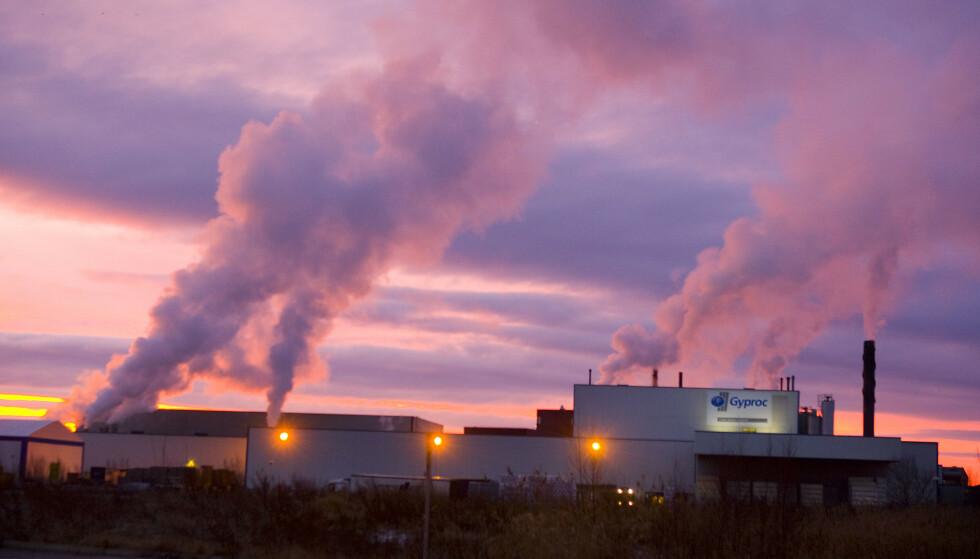 NULL: Industrien forhandler først i årets lønnsoppgjør. Tibudet er null fra NHO. Foto: Heiko Junge, NTB scanpix