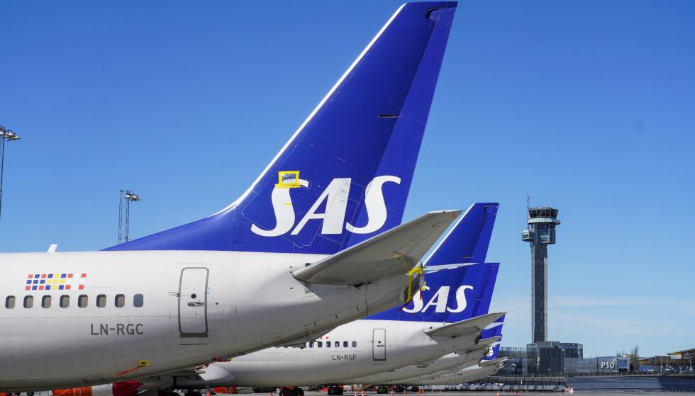 REDNINGSPAKKE: Milliardstøtte fra Sverige og Danmark redder SAS. Norge står utenfor. Foto: Håkon Mosvold Larsen / NTB scanpix