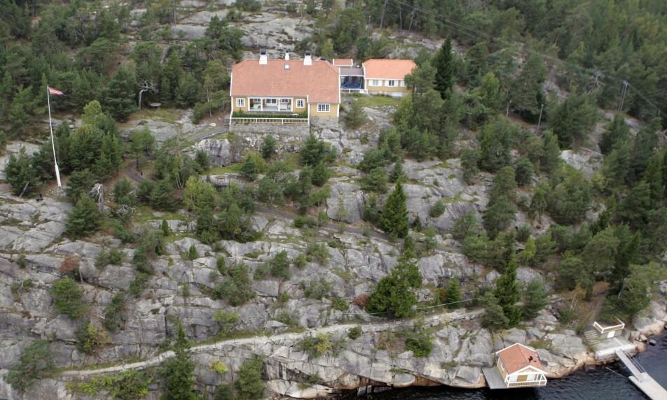NYE EIERE: Drøye to år etter at prinsesse Märtha Louise først forsøkte å kvitte seg med eiendommen, har et salg omsider gått i boks. Foto: NTB Scanpix