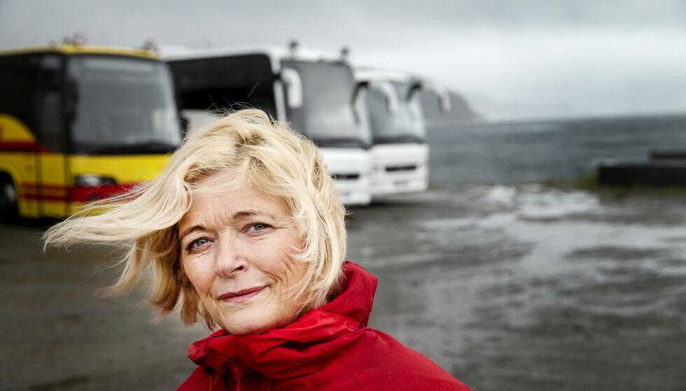 CORONA-ÅR: - 2020 har blitt en katastrofe for turistnæringa i Nord-Norge, sier Kjellbjørg Mathiesen som leder Arctic Guide Service. Foto: Henning Lillegård / Dagbladet