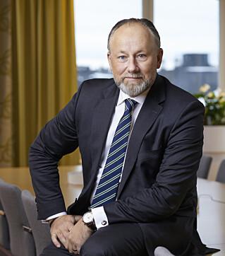 BEKYMRET: Administrerende direktør i Visita, Jonas Siljhammar. Foto: Peter Jönsson/ Visita