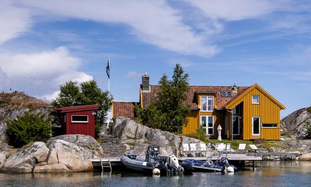 <strong>BLINDLEIA:</strong> Her er eiendommen Nicolai Tangen kjøpte for 6,75 mill i 2001. Foto: Lars Eivind Bones / Dagbladet.