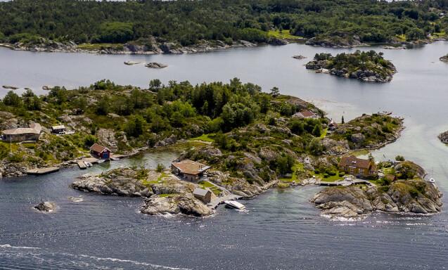 <strong>HYTTEPARADIS:</strong> Det er i hytteparadiset Blindleia at Nicolai Tangen eier to hytter. Foto: Lars Eivind Bones / Dagbladet.