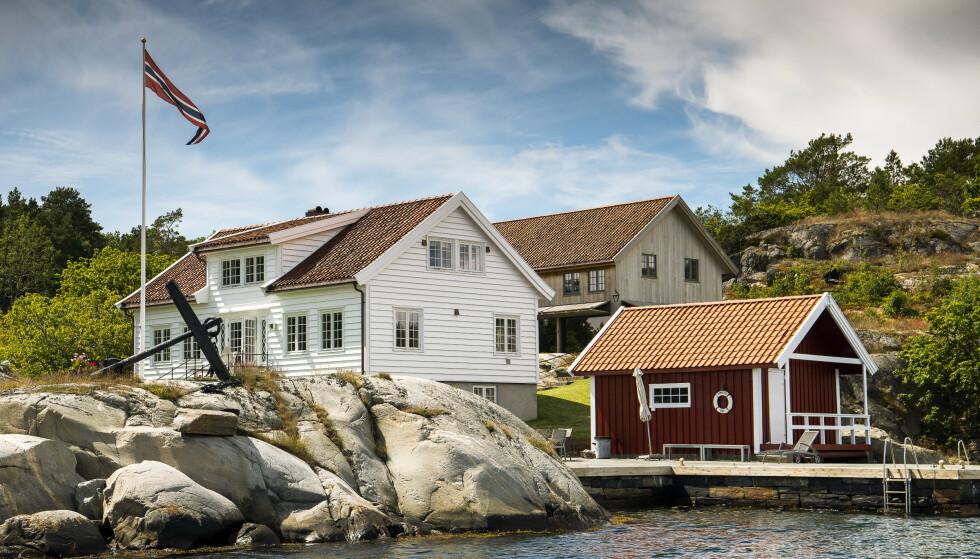 BLINDLEIA: Familien Tvenge har en rekke eiendommer i Blindleia. Foto: Lars Eivind Bones / Dagbladet.